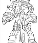 coloriage power ranger 014